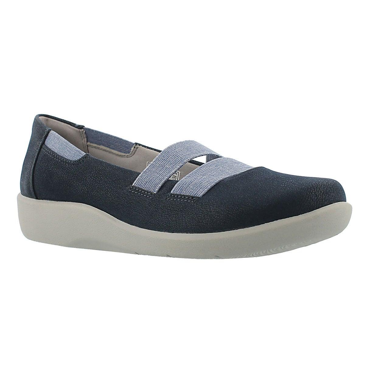 Women's SILLIAN REST navy slip on casual shoes