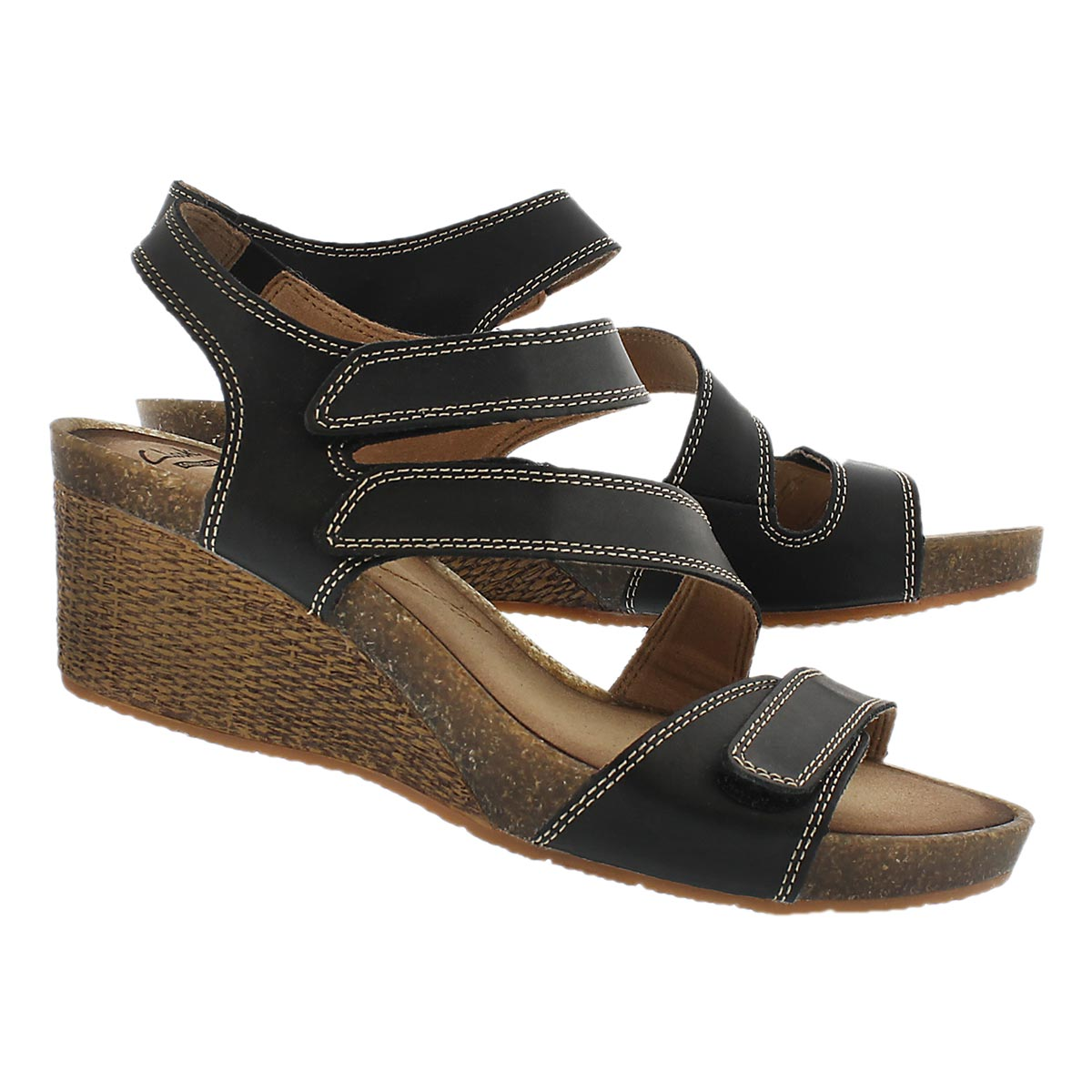 Lds Havely Ordo black wedge sandal
