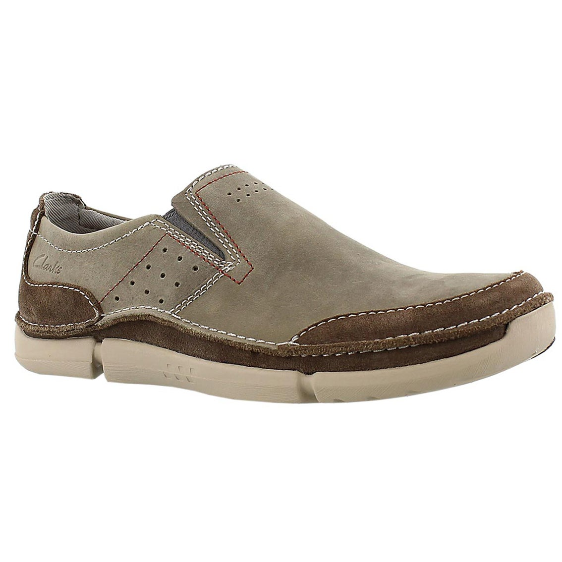 Mns Trikeyon Step olive casual slip on