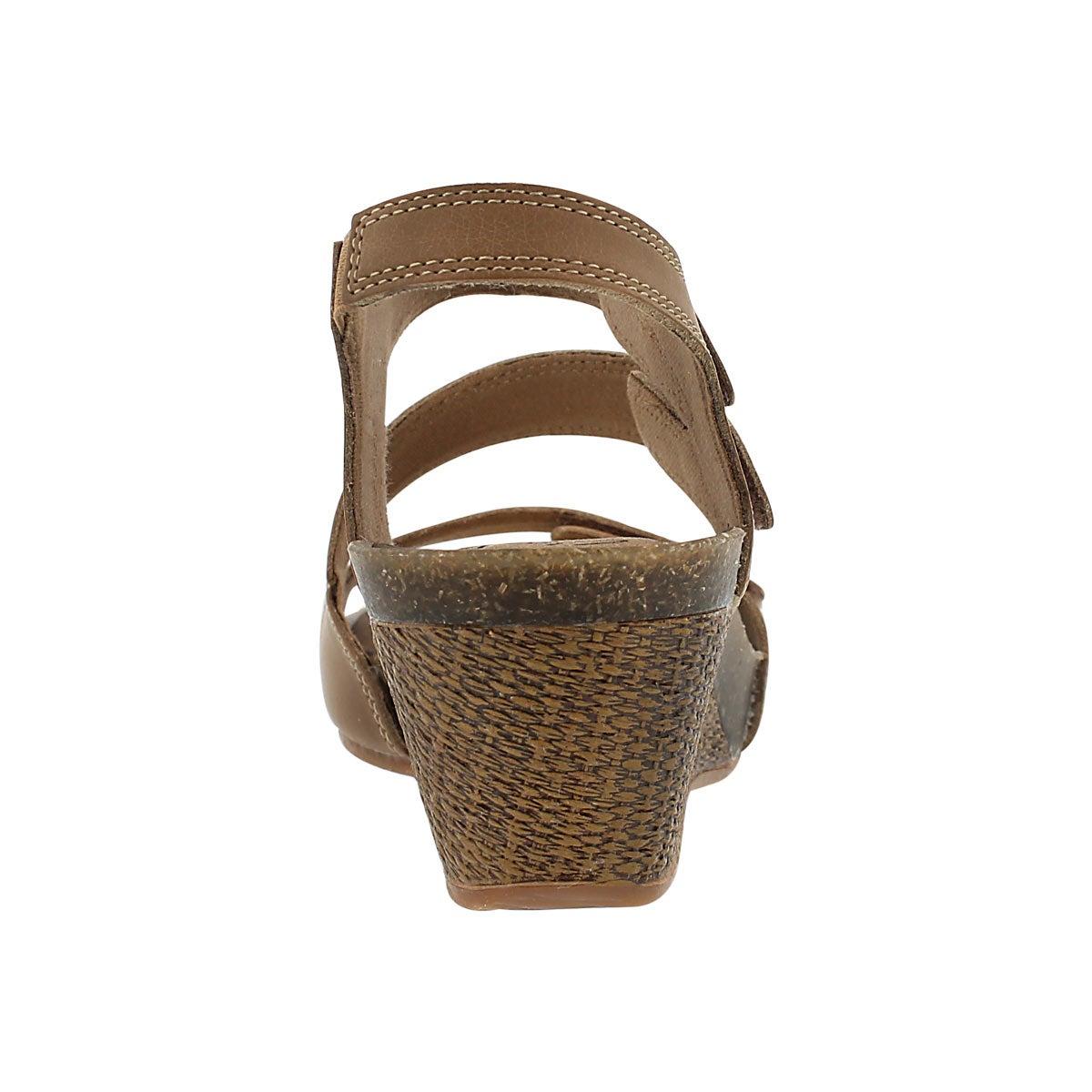 Lds Havely Ordo beige wedge sandal
