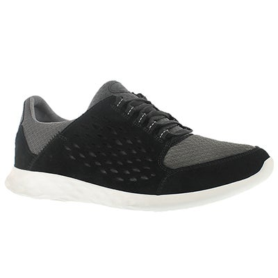 Clarks Men's SEREMAX LACE black lace up sneakers