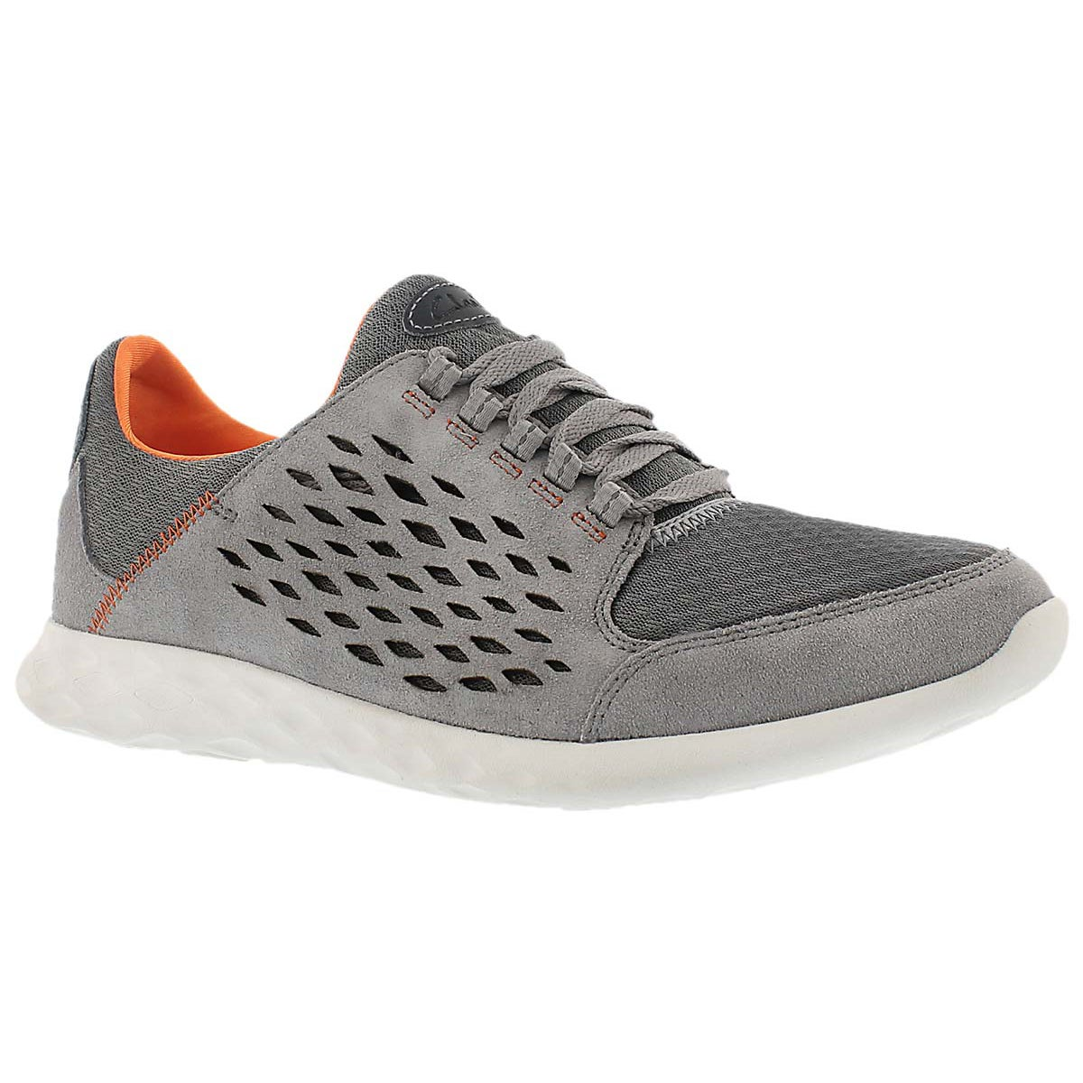 Mns Seremax Lace grey lace up sneaker