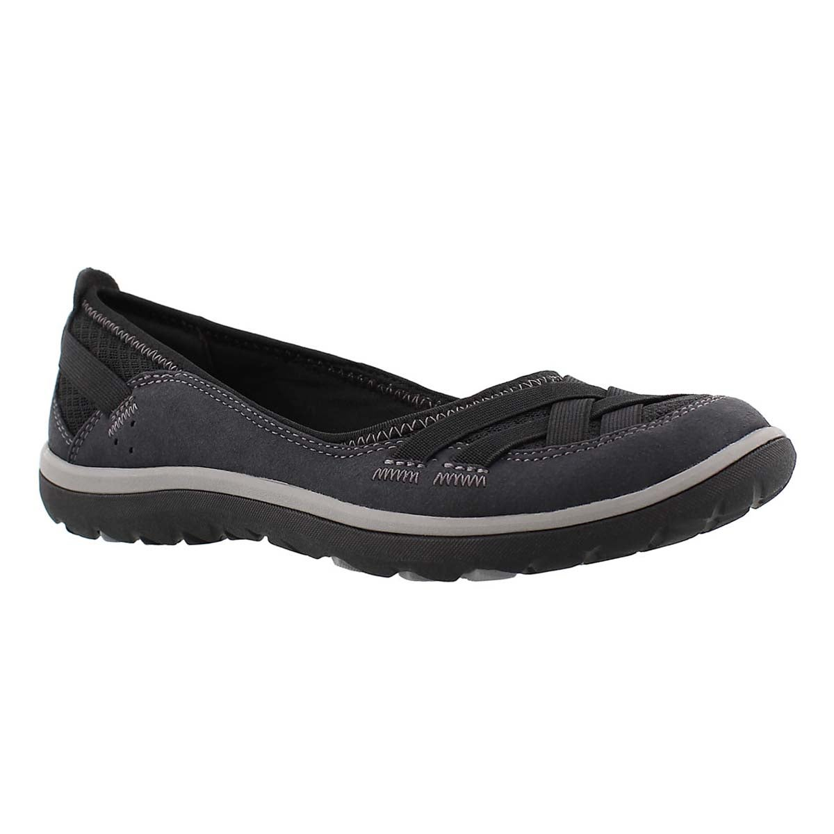 Women's ARIA PUMP black slip on casual shoes