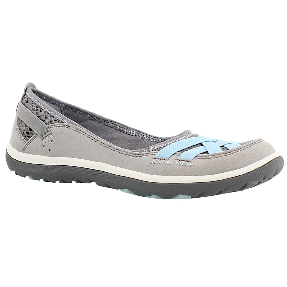 Women's ARIA PUMP grey slip on casual shoes