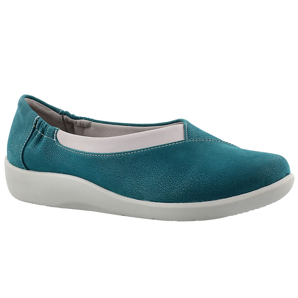 Lds Sillian Jetay teal casual slip on