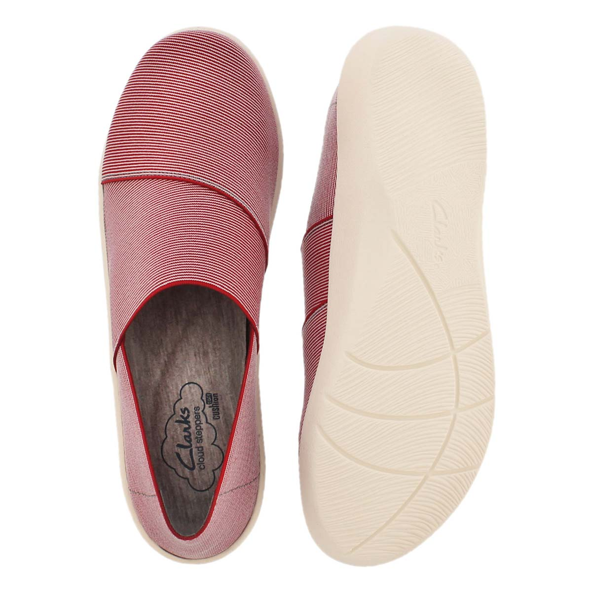 Lds Sillian Firn red casual slip on