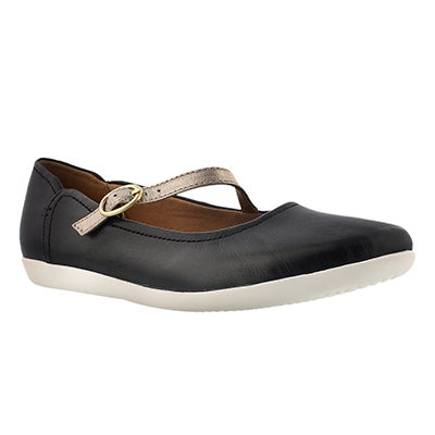 Lds Helina Amo black casual mary jane