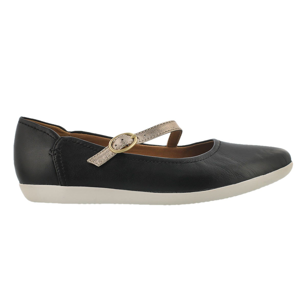 Lds Helina Amo black casual mary jane