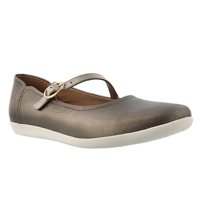 Clarks Chaussures Mary Jane HELINA AMO, étain, femmes