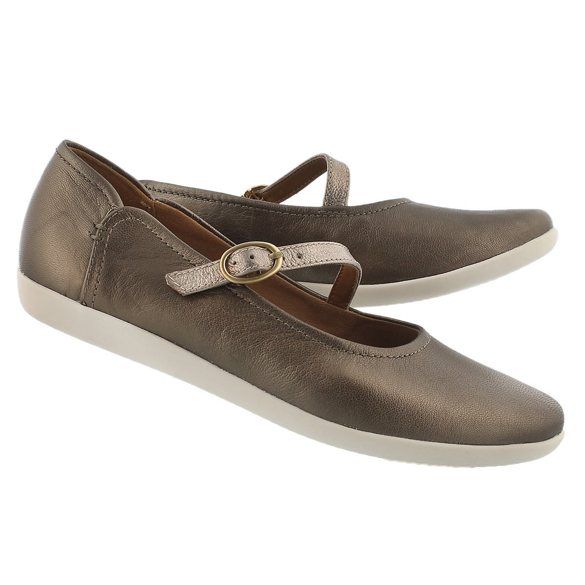 Lds Helina Amo pewter casual mary jane