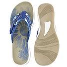 Lds Brinkley Jazz blue camo thong sandal