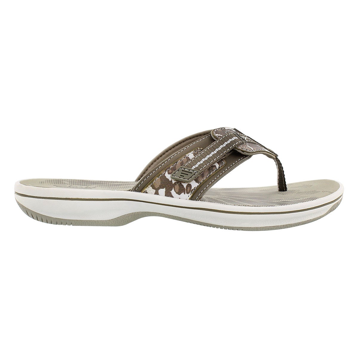 Lds Brinkley Jazz sage camo thong sandal
