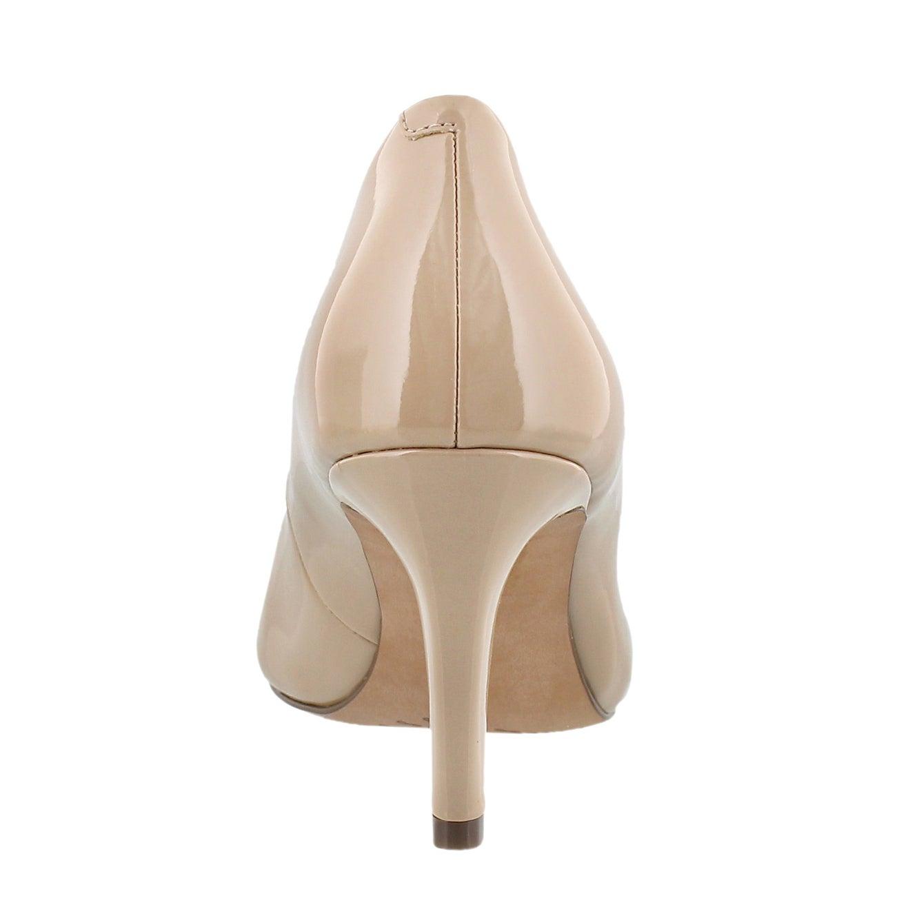 Lds Carlita Cove sand patent dress pump