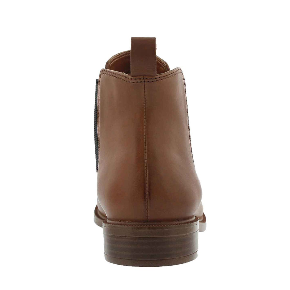 Lds Taylor Shine tan chelsea boot