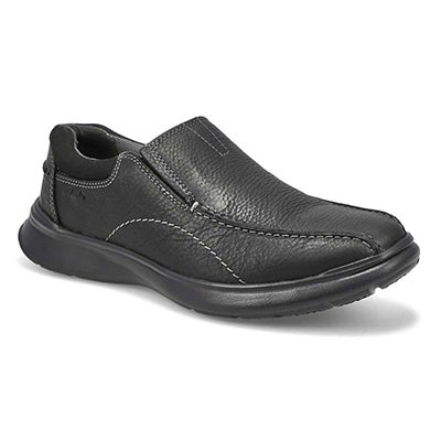 Clarks Men's COTRELL STEP black slip on - Wide