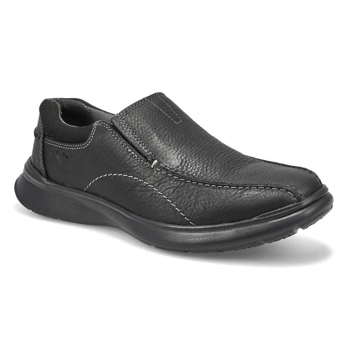 Men's COTRELL STEP black slip on - Wide