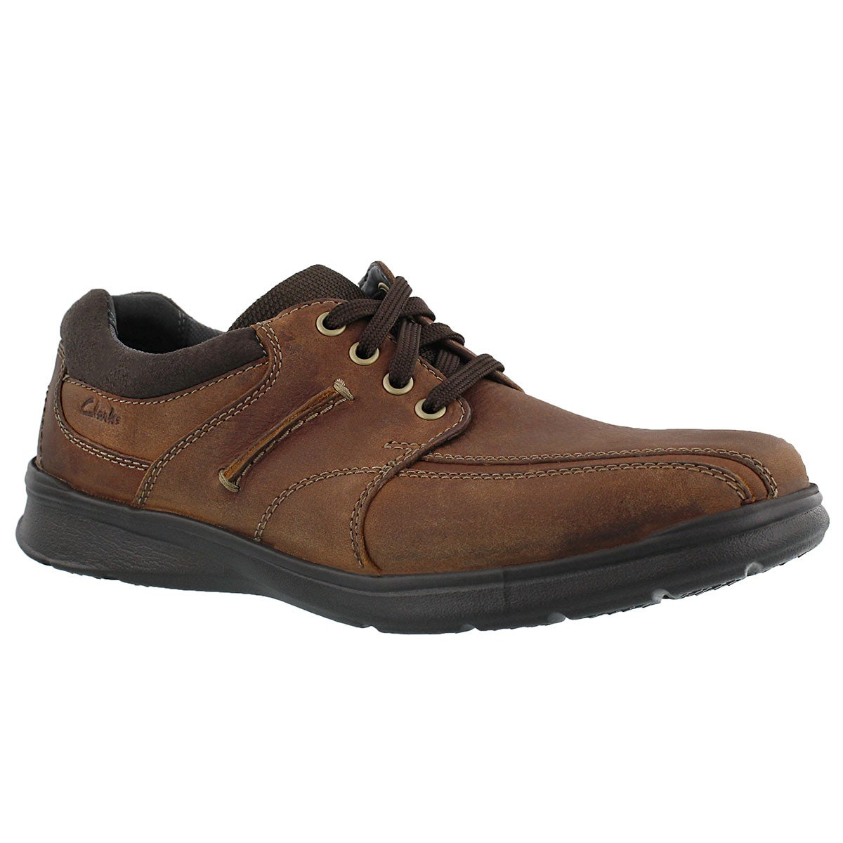 Mns Cotrell Walk tobacco oxford - WIDE