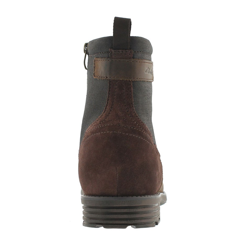 Mns Guard Top brown slip on ankle boot