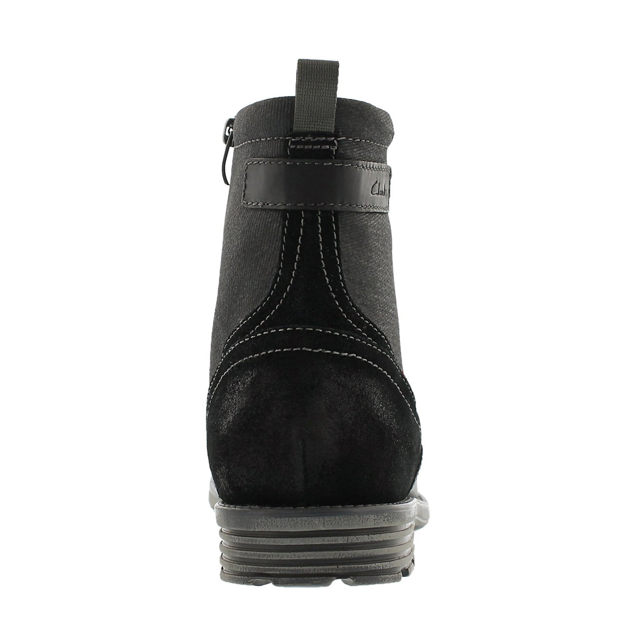 Mns Guard Top black slip on ankle boot