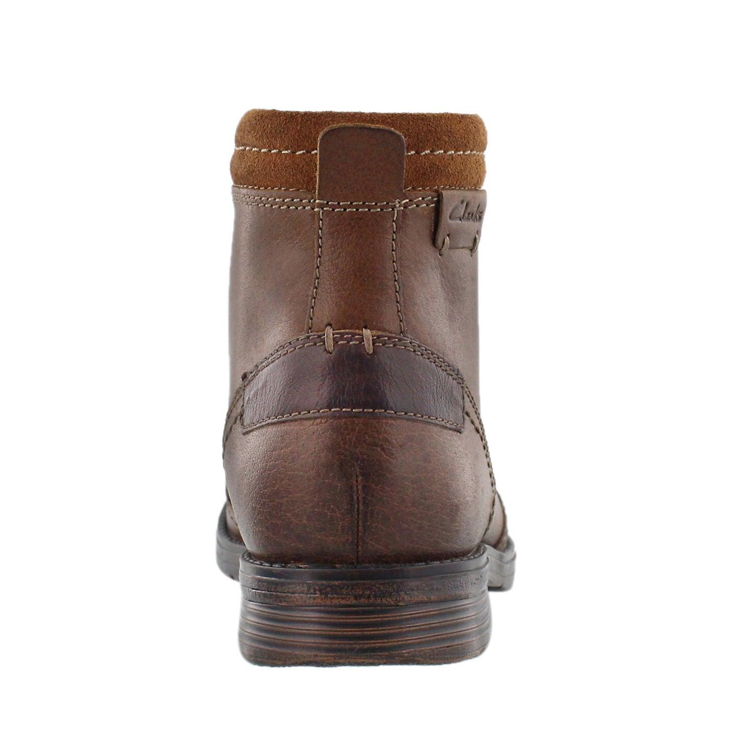 Mns Devington Hi tobacco ankle boot