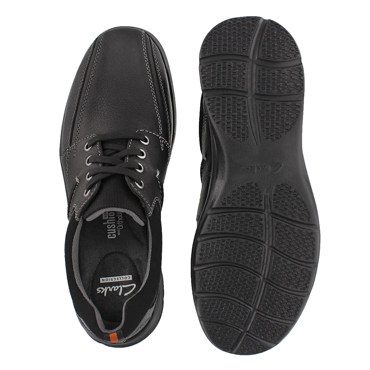 Mns Cotrell Walk black oxford - WIDE
