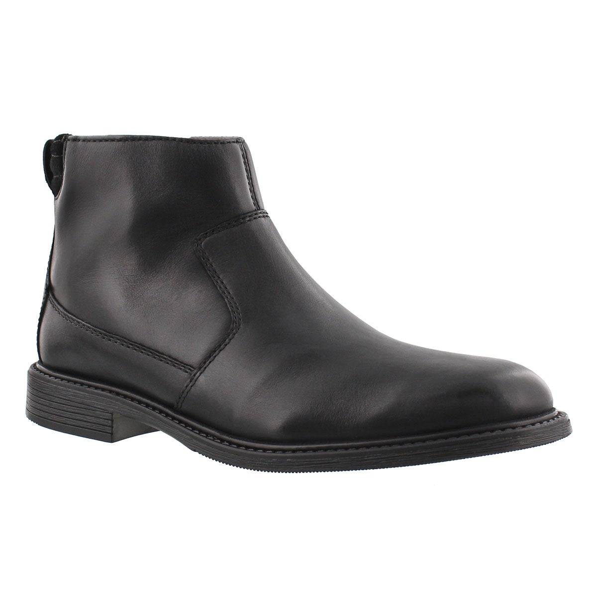 Mns Edman Rise black zip up ankle boot