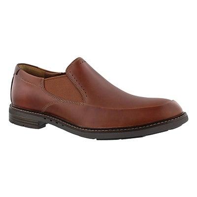 Clarks Men's UN. ELLOT STEP tan slip on dress shoes