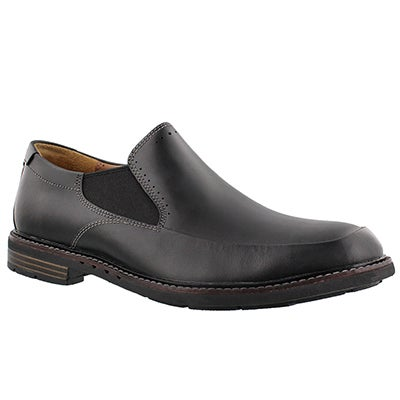 Mns Un.Ellot Step blk slip on dress shoe
