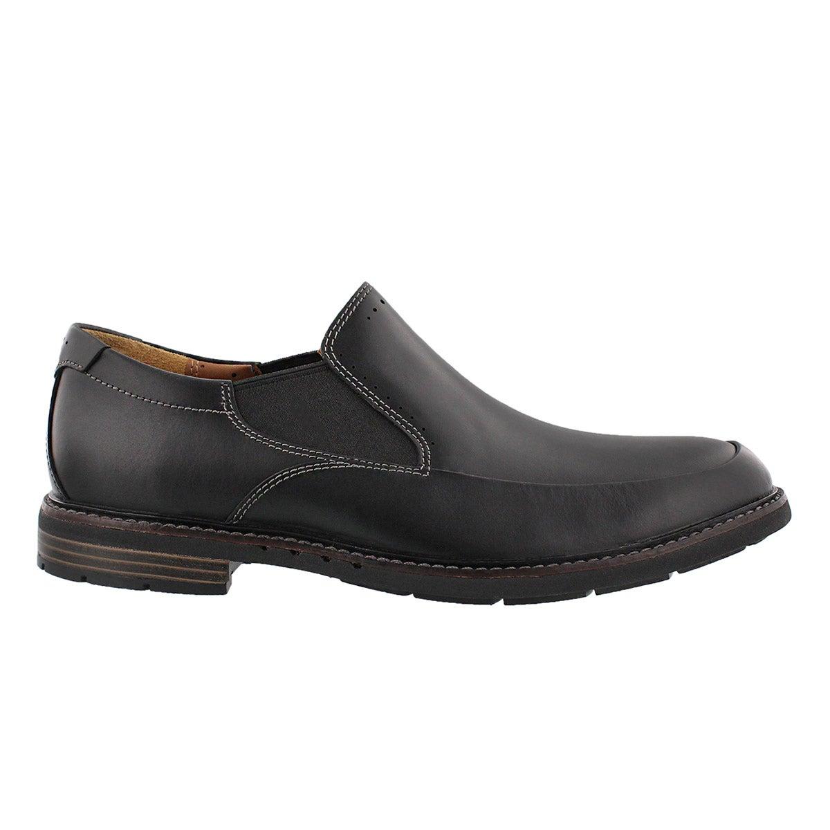 Mns Un.Ellot Step blk slip on dress shoe