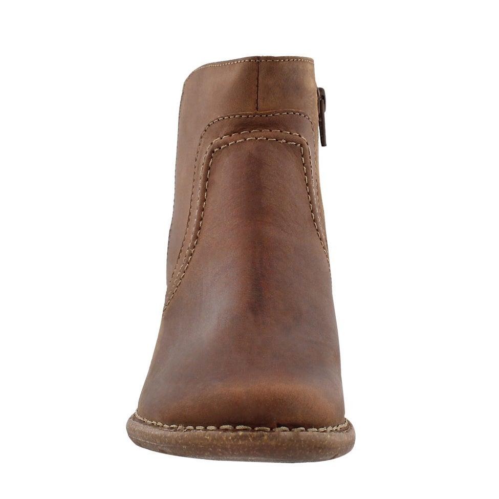 Lds Carleta Paris brn nubuck ankle boot