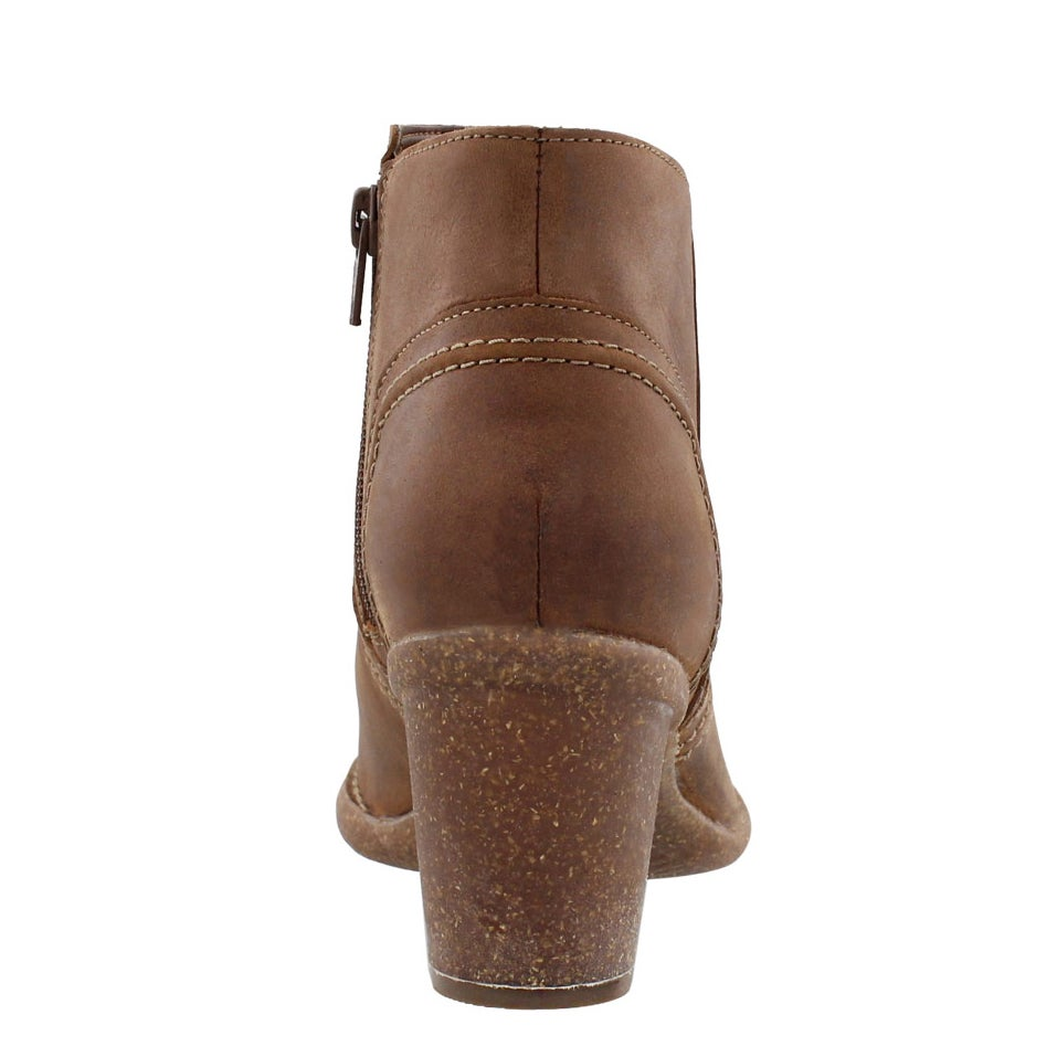 Bottillon Carleta Paris, nubuck brun, fe