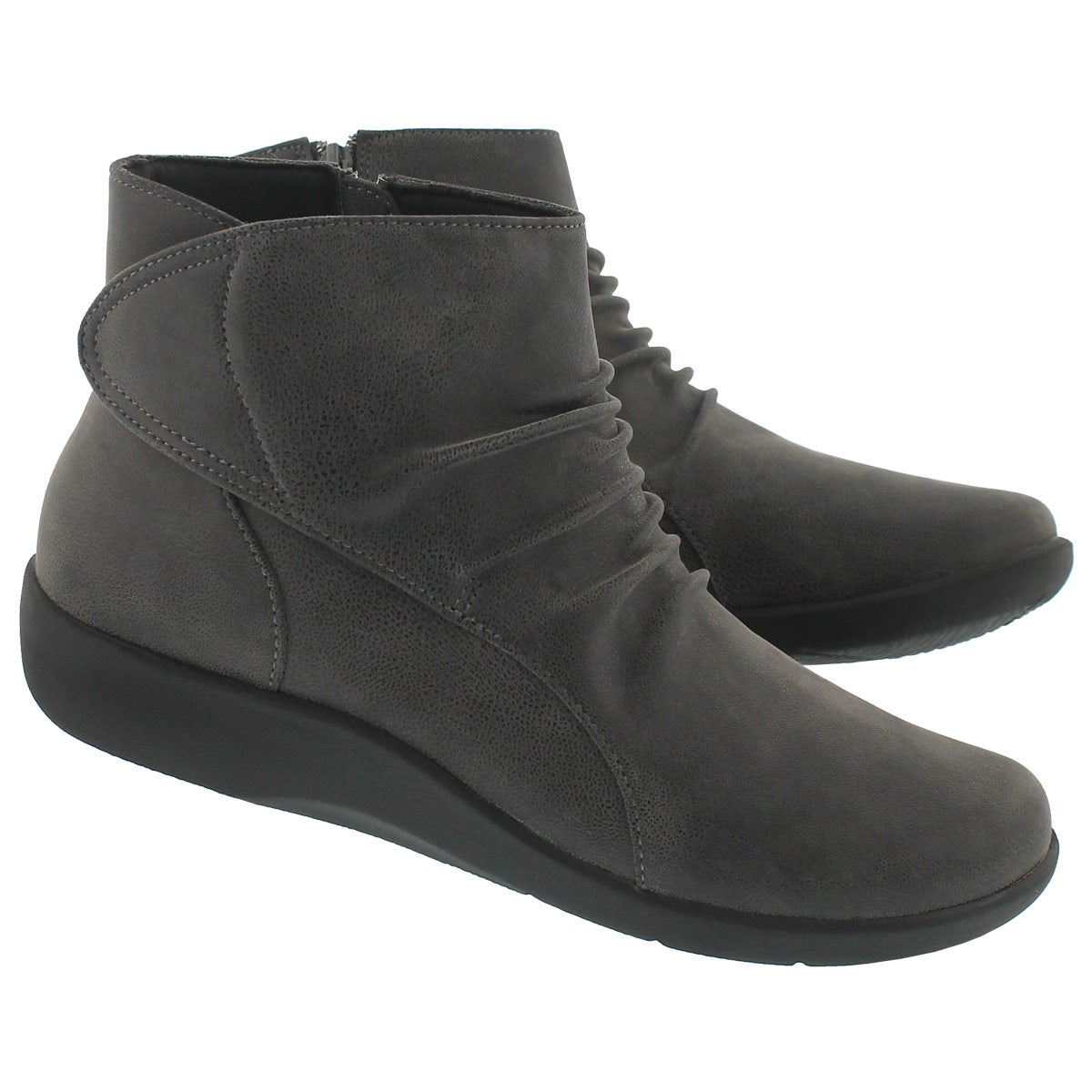 Lds Sillian Chell grey ankle boot