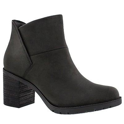 Clarks Women's MALVET HELEN black slip on ankle boots