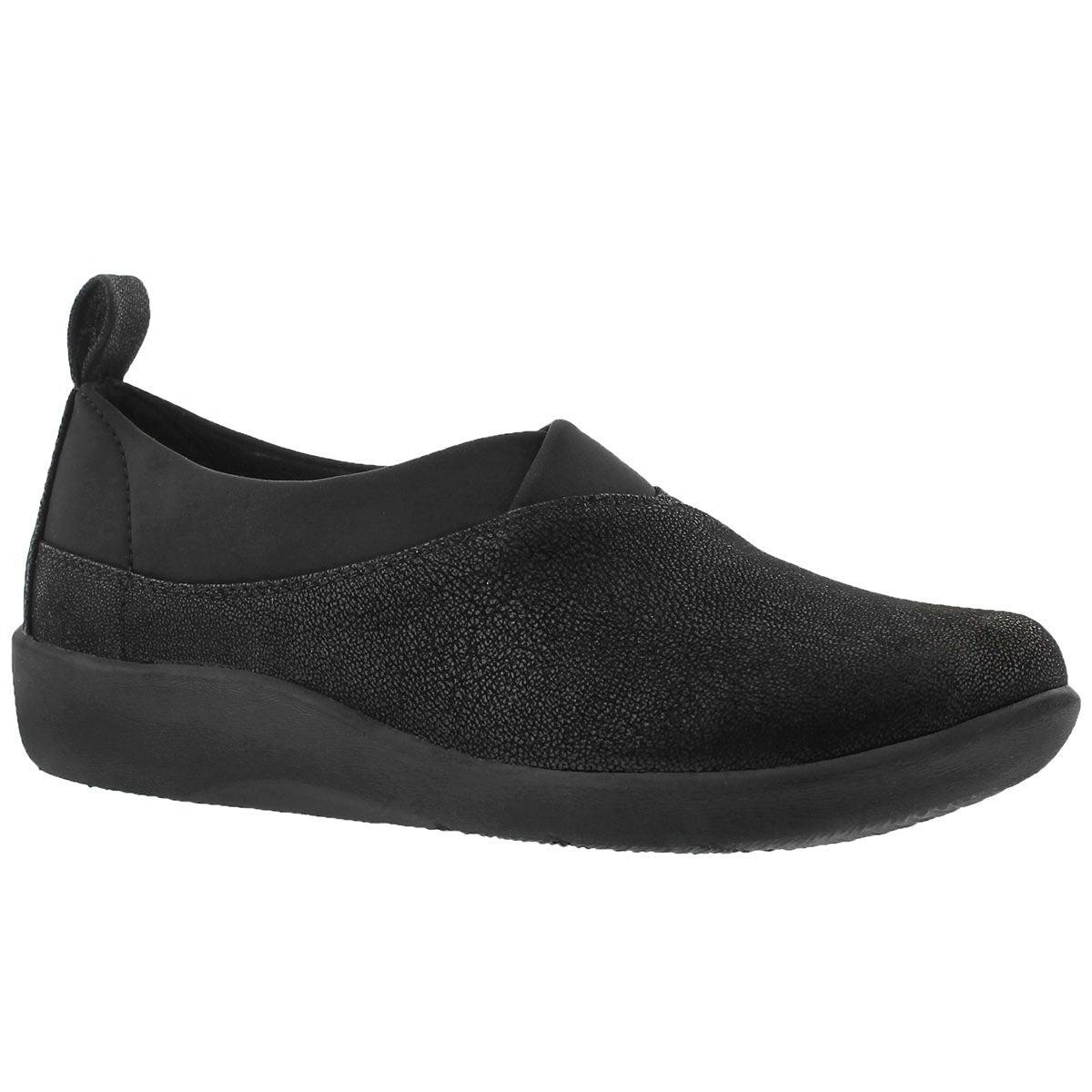 Lds Sillian Greer black casual slip on
