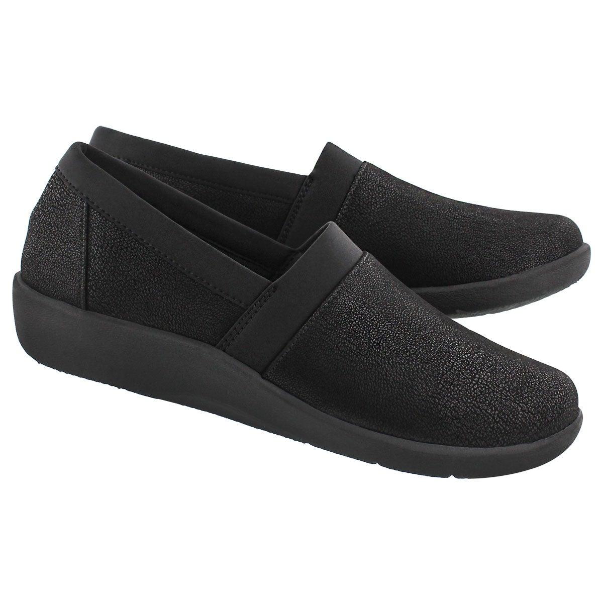 Lds Sillian Blair black slip on loafer