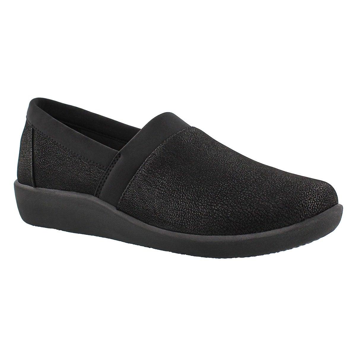 Women's SILLIAN BLAIR black slip on loafers