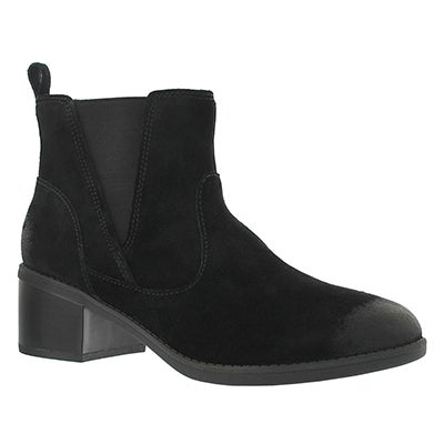 Clarks Women's NEVELLA BELL black casual ankle boots