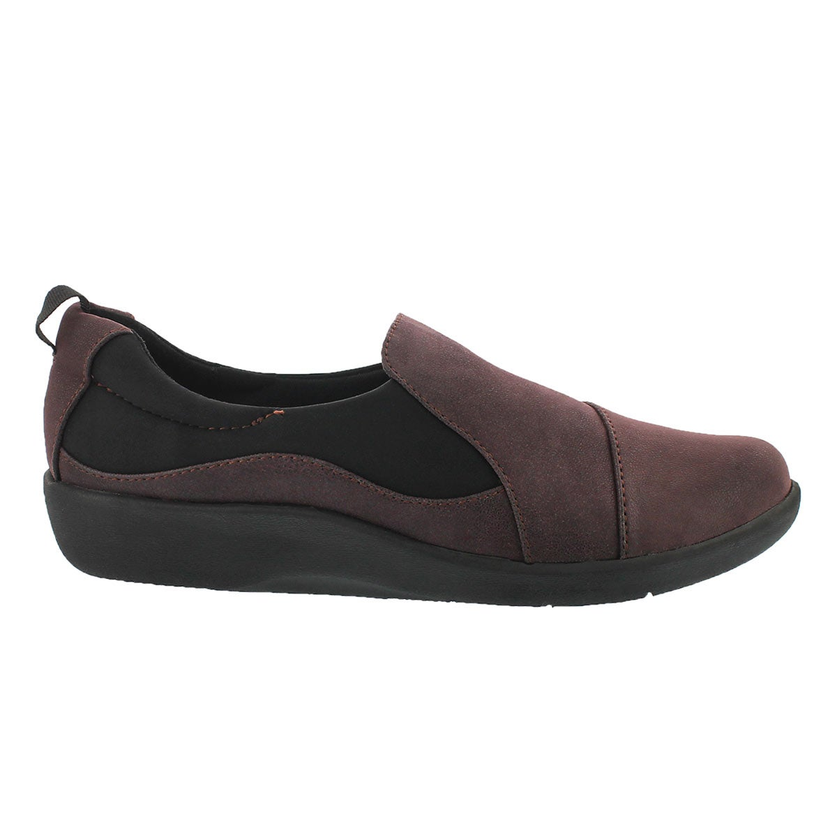 Lds Sillian Paz aubergine casual loafer