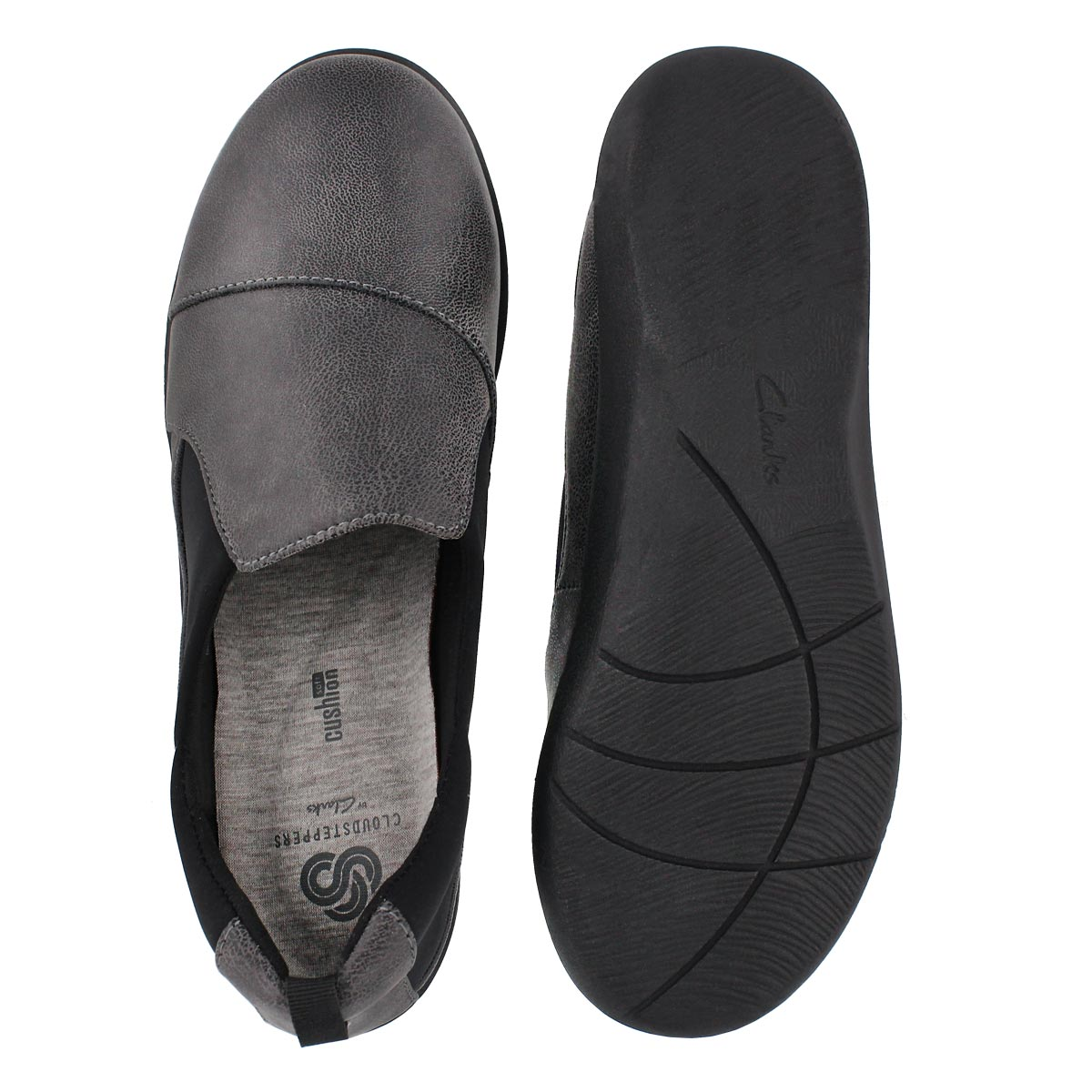 Lds Sillian Paz grey casual loafer