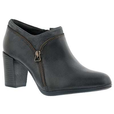 Lds Araya Morgan dk gry dress bootie