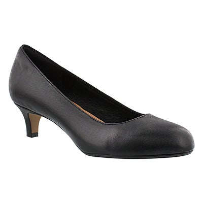 Clarks Women's HEAVENLY SHINE black dress heels