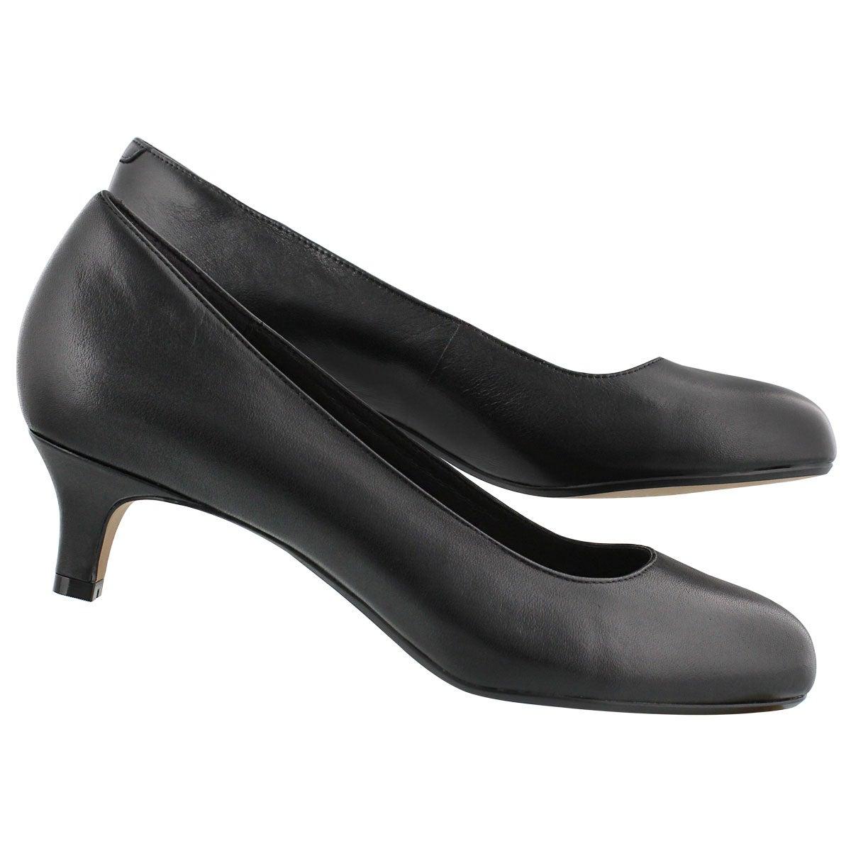 Lds Heavenly Shine black dress heel