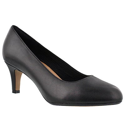 Clarks Women's HEAVENLY HEART black dress heels