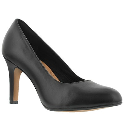 Clarks Women's HEAVENLY STAR  black dress pumps