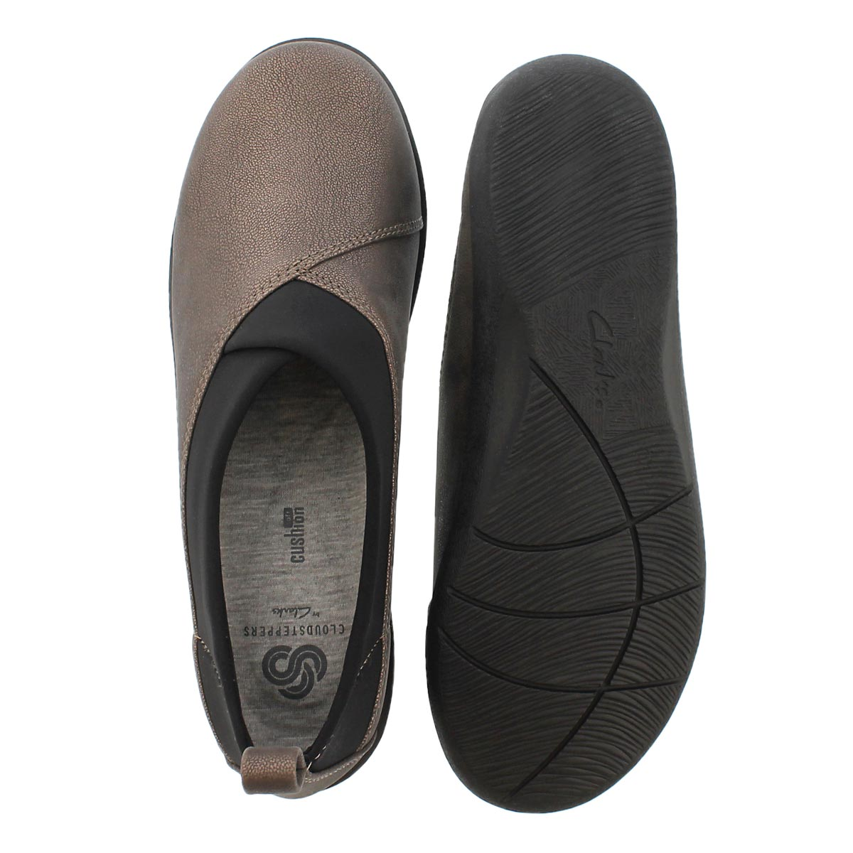Lds Sillian Greer pewter casual slip on