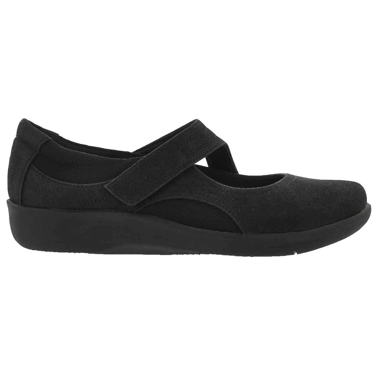 Lds Sillian Bella blk casual mary jane