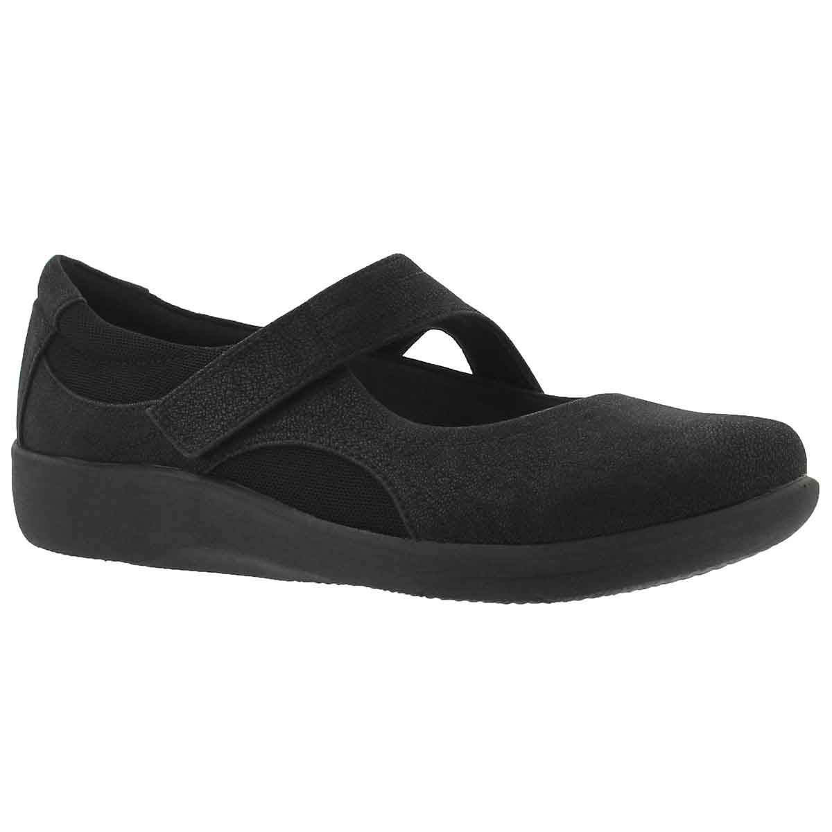 Women's SILLIAN BELLA black casual Mary Janes