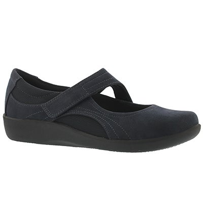 Lds Sillian Bella navy casual mary jane