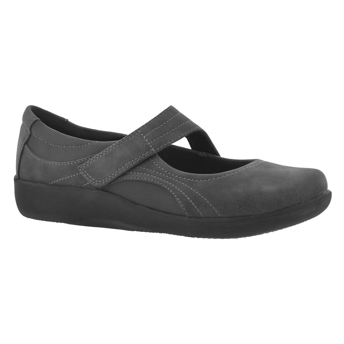 Women's SILLIAN BELLA grey casual Mary Janes