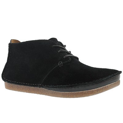 Lds Janey Lynn black casual boot
